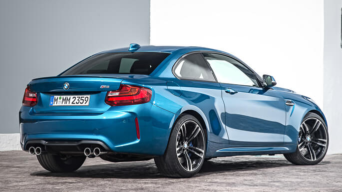 bmw M2 new Rear