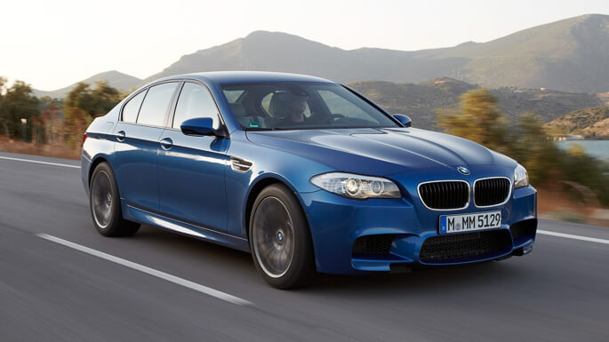 bmw M5 2013 Front