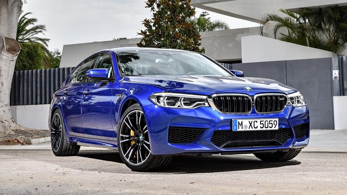 bmw M5 new Front