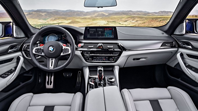 bmw M5 new Interior