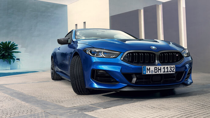 bmw 8 series new Front
