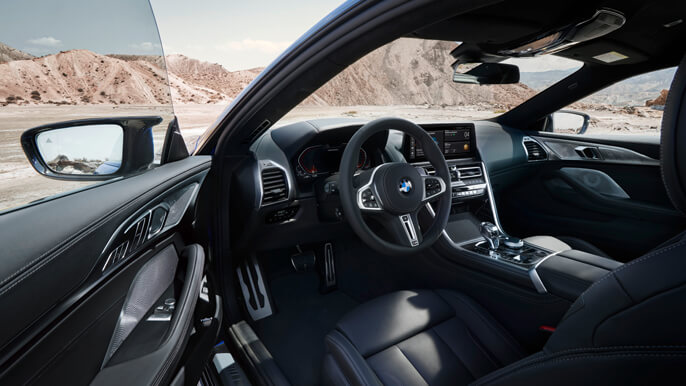 bmw 8 series new Interior