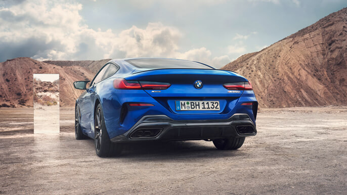 bmw 8 series new Rear