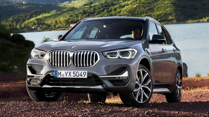 bmw X1 new Front
