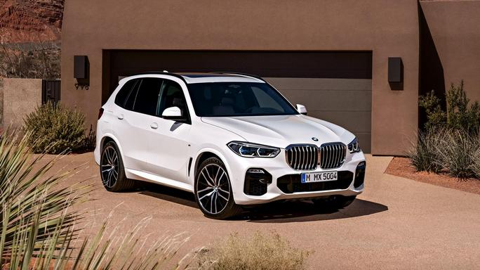 bmw X5 new Front