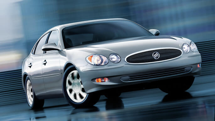 buick lacrosse 2006 Front