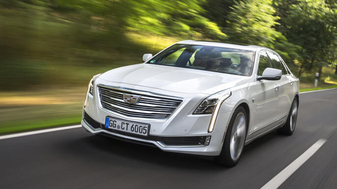 cadillac CT6 new Front
