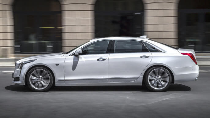 cadillac CT6 new Side