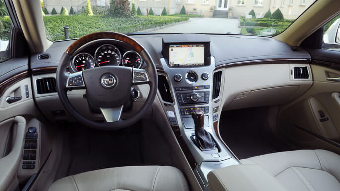 cadillac CTS coupe 2011 Interior