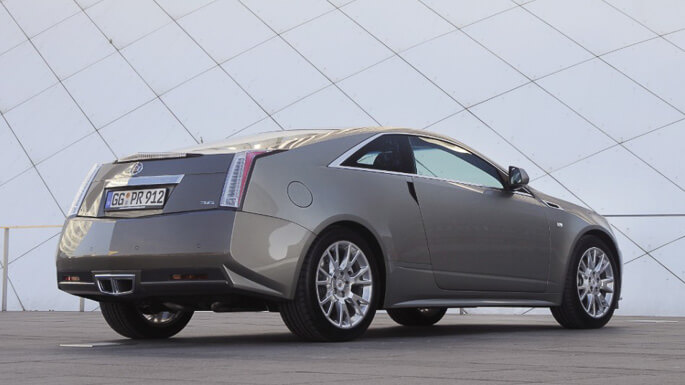 cadillac CTS coupe 2011 Rear