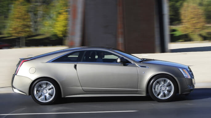 cadillac CTS coupe 2011 Side