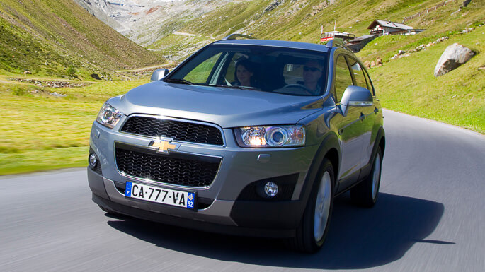 chevrolet captiva new Extra