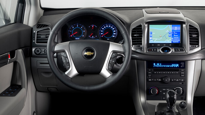 chevrolet captiva new Interior