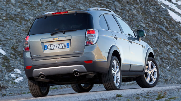 chevrolet captiva new Rear