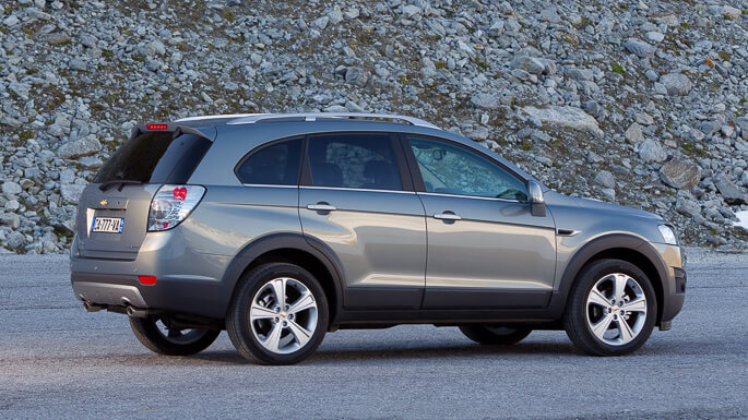 chevrolet captiva new Side