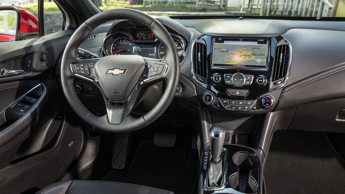 chevrolet cruze new Interior