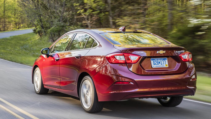 chevrolet cruze new Rear