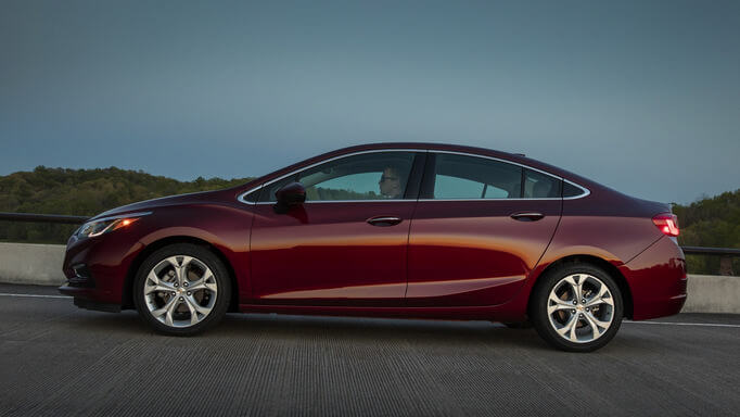 chevrolet cruze new Side