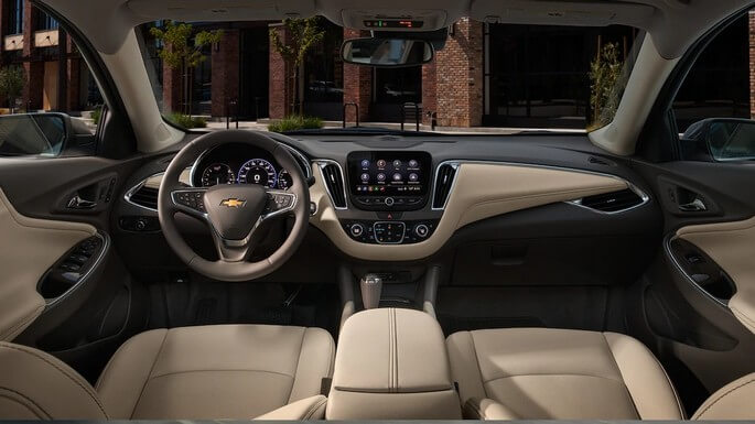 chevrolet malibu new Interior
