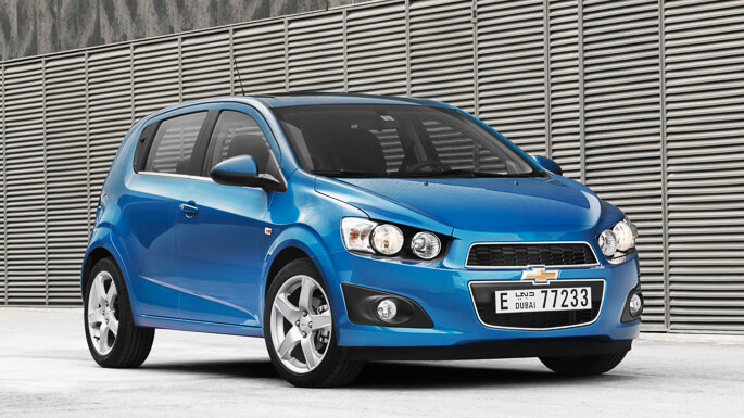 chevrolet sonic 2011 Front