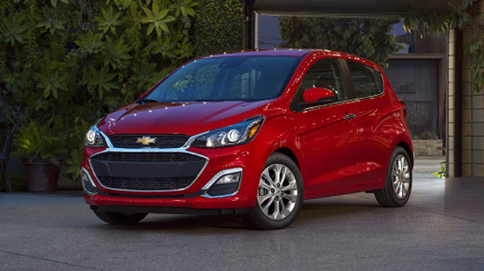 chevrolet spark new Front