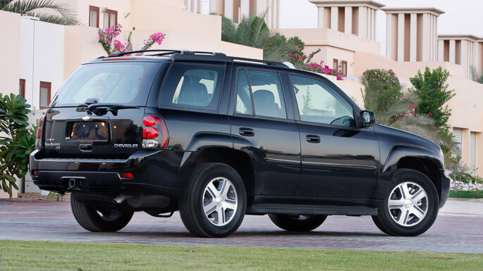 chevrolet trailblazer 2004 Rear