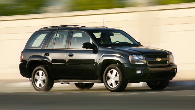 chevrolet trailblazer 2004 Side