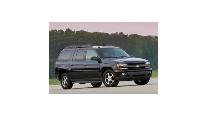 chevrolet trailblazer 2004 extra