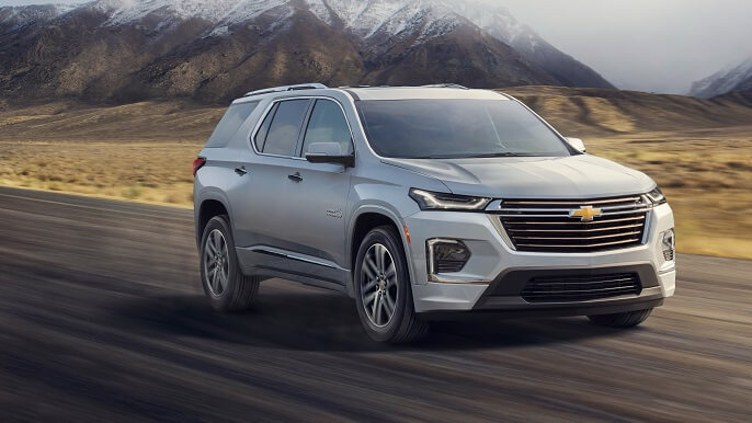 chevrolet traverse new Extra