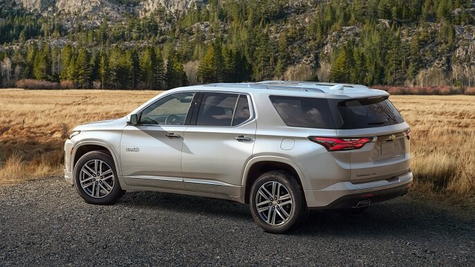 chevrolet traverse new Side