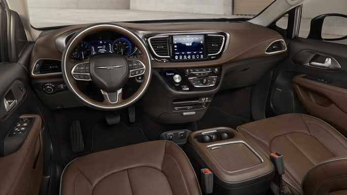 chrysler pacifica new Interior
