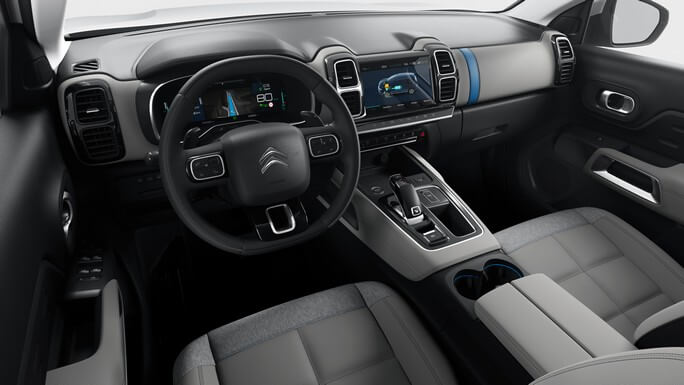 citroen C5 aircross new Interior