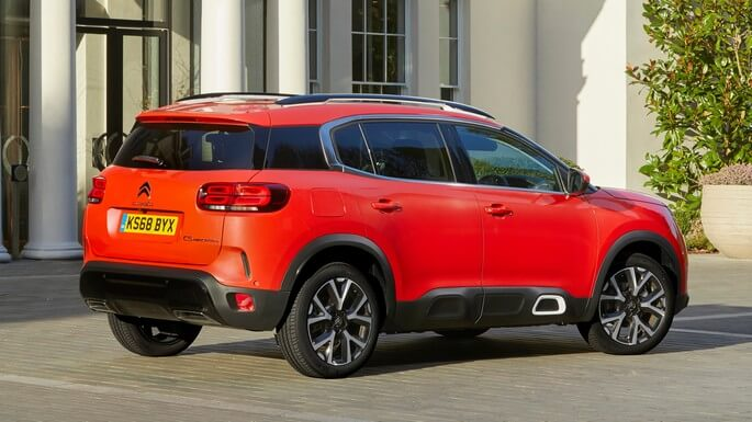citroen C5 aircross new Rear