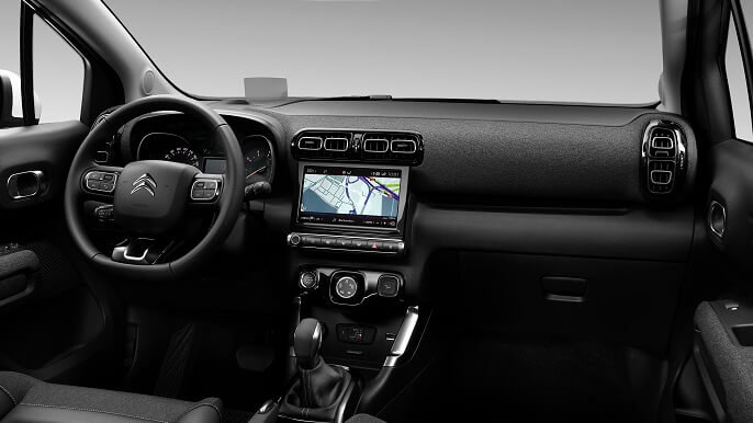 citroen C3 aircross new Interior