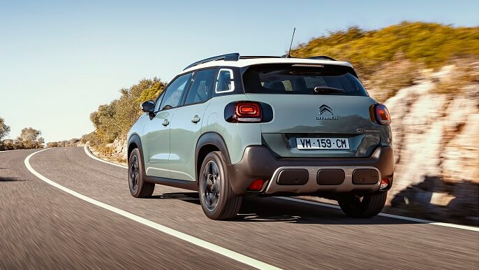 citroen C3 aircross new Rear