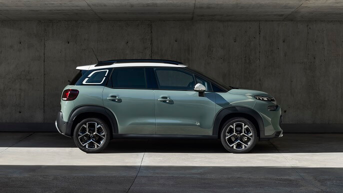 citroen C3 aircross new Side