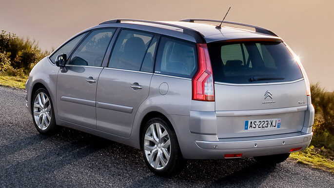 citroen C4 grand picasso 2008 Rear