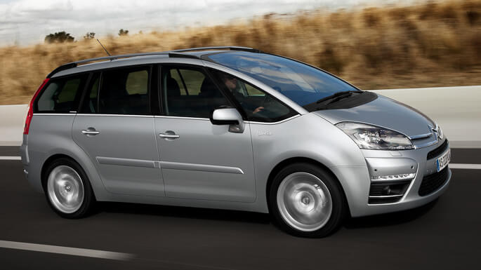 citroen C4 grand picasso 2008 Side