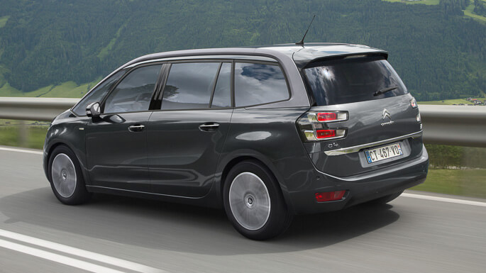 citroen C4 grand picasso 2014 Rear