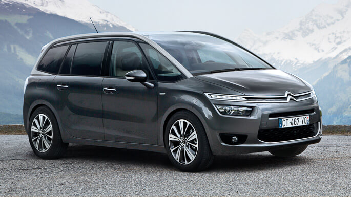 citroen C4 grand picasso new Front