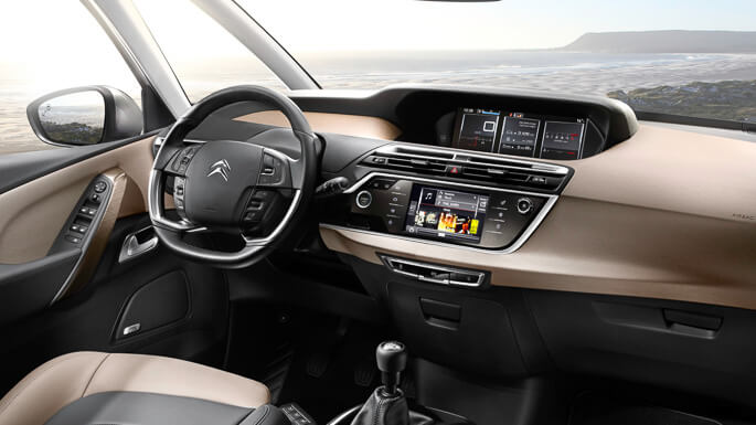 citroen C4 grand picasso new Interior