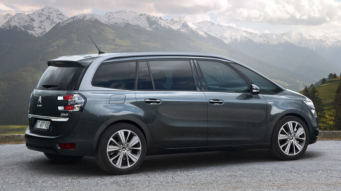 citroen C4 grand picasso new Side