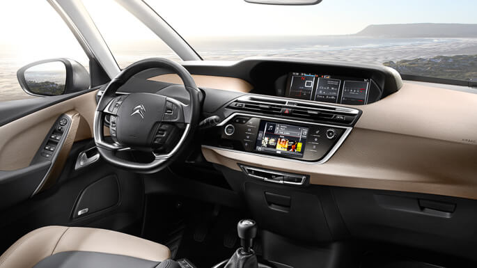 citroen C4 picasso new Interior