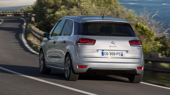 citroen C4 picasso new Rear