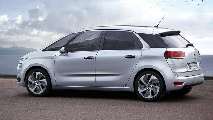 citroen C4 picasso new Side