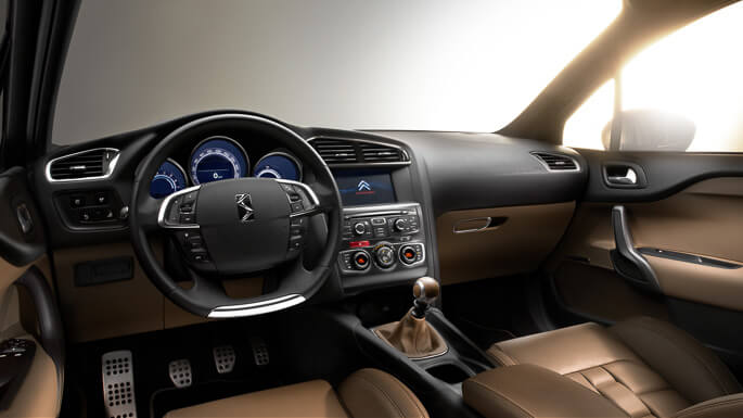 citroen DS4 2012 Interior