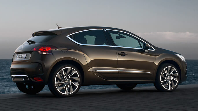 citroen DS4 2012 Side