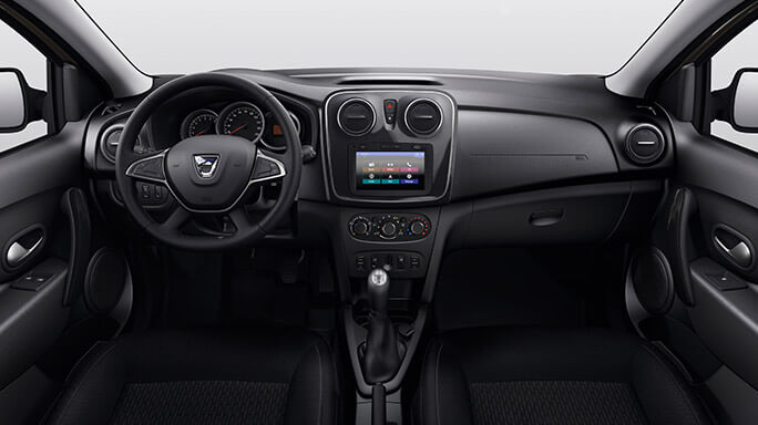 dacia sandero new Interior