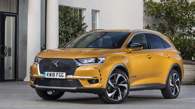 DS DS7crossback new Front