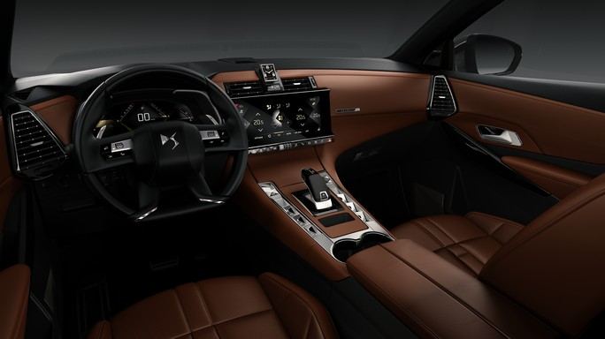 DS DS7crossback new Interior